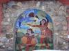 Андерсенград. Мозайка на внешней стене