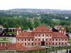 Ботанический сад в Праге. Вид на Тройский дворец