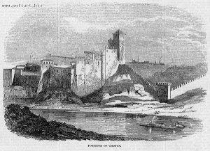 1371  300x225 gravura hotinskoi kreposti 2 Хотинская крепость