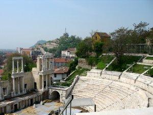 7279  300x225 rimskij amfiteatr v plovdive 06 Римский амфитеатр в Пловдиве