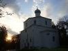 Церковь Георгия на Торгу на закате