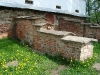 Церковь Михаила Архангела на Торгу. Фрагменты раскопок нижнего этажа