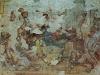 Церковь Святой Троицы. Фрагменты фрески нагорная проповедь