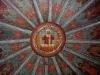 """Церковь Успения Пресвятой Богородицы в Кондопоге. Расписной потолок """"небо"""""""
