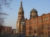 Церковь Воскресения Христова. Вид с Варшавского вокзала