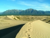 Чарские пески.Следы на песке