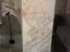 Церковь Спаса на Нередице. Роспись колоны