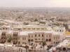 Вид из цитадели Алеппо на Халеб