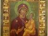 Икона Богоматерь Тихвинская с чудесами, Родион Сергиев, XVII век из Большого Тихвинского монастыря