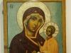 Икона Богоматерь Тихвинская, XVII-XVIII век из церкви Петра и Павла в Кожевниках