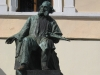 Феодосия. Памятник мастеру у музея Айвазовского