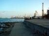 Феодосия. Вид с набережной на морской порт