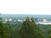 Гора Маура. Вид на Кирилло-Белозерский монастырь