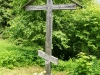 Гора Маура. Деревянный крест у часовни