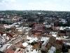 Городская ратуша Львов. Вид на городские кварталы