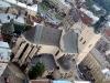 Городская ратуша Львов. Вид на Латинский кафедральный собор