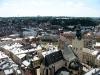 Городская ратуша Львов. Вид на город и Латинский кафедральный собор