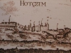 Хотинская крепость. Гравюра. 1780 год.