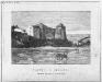 Хотинская крепость. Гравюра. 1885 год.