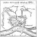 План Хотинской крепости 1818 год.