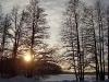 Храм Святой Троицы. Озеро Горавалдайское.