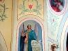 Храм Святого Николая. Фрагмент росписи на колоннах