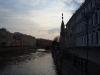 Исаакиевская площадь. Вид на реку Мойка с Синего моста