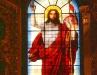 Исаакиевский собор. Витраж Иисуса Христа по проекту Г.М. Гесса
