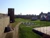 Ивангородская крепость. Вид на Передний город, 1507-1509 гг