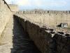 Ивангородская крепость. Вид с крепостных стен на Длинношею башню