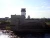 Ивангородская крепость. Вид на Нарвскую крепость