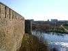 Ивангородская крепость. Вид на Нарву и Колодезную башню