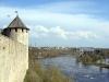 Ивангородская крепость. Провиантская башня над рекой Нарва