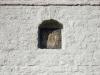 Ивангородская крепость. Икона в нише церковной стены