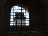 Ивангородская крепость. Вид в бойницы на Нарвскую крепость