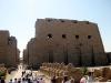 Карнакский храм. Аллея сфинксов и I пилон