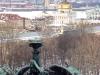 Колоннада Исаакиевского собора. Вид на Адмиралтейство