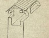 Южная стена Копорской крепости в разрезе. XVI век. Реконструкция.
