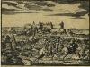 Вид на деревню Копорья и Копорскую крепость. XVII век. Гравюра из книги А. Олеария
