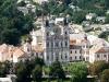 Кременецкий замок. Вид на Костел Иезуитов