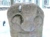 Кунсткамера. Статуя во дворе