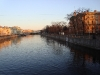 Михайловский замок. Вид на реку Фонтанка