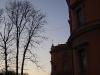 Михайловский замок. Западный фасад