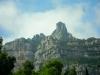 Монастырь Монсеррат. Лысые скалы