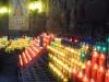 Монастырь Монсеррат. Свечи в благодарность Деве Марии