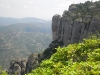 Монастырь Монсеррат. Вид на долину