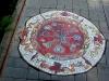 Мозаичный дворик. Тротуар
