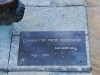 Музей Сальвадора Дали. Табличка к скульптуре Каменный всадник