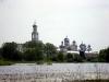 Музей Витославлицы. Вид на Свято-Юрьев мужской монастырь