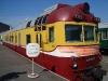 Музей железнодорожной техники. Головной вагон дизель-поезда Д 719-3, 1984 год